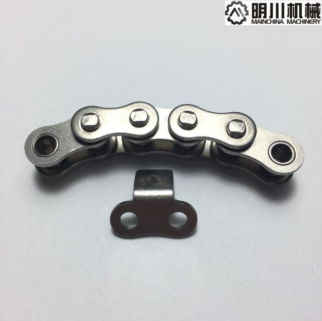06C Pitch 9.525mm Stainless Steel Conveyor Chain With Heavy Duty Load Capacity