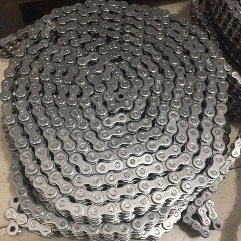 10A/50 304 Stainless Steel Conveyor Chain Pitch 15.875mm For Agricultural Machinery