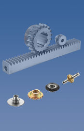 China C45 Gear Racks , Roller Chain Sprocket Stainless Steel Material factory