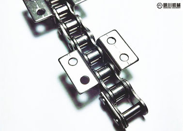 Double Pitch Overhead Conveyor Chain , 304/316 Stainless Steel Roller Chain