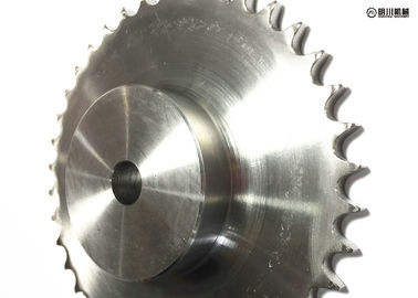China Professional 304 Stainless Steel Sprockets , DIN/ANSI Stainless Steel Roller Chain Sprockets factory