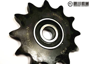 China Customized High Speed Ball Bearing Idler Sprocket 60 Chain With Hardened Teeth factory