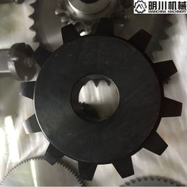 Simplex 12 Teeth Double Pitch Sprocket Non Standard C Type With High Precision Performance