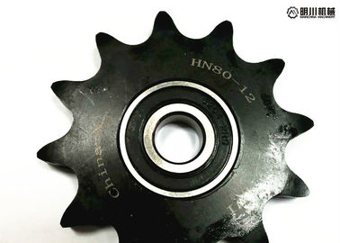 "P8X1/8"" Tooth 23 Conveyor Chain Ball Bearing Idler Sprocket 45c Material"