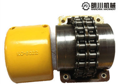 KC Flexible Roller Chain Coupling Steel Material For Lifting Transportation