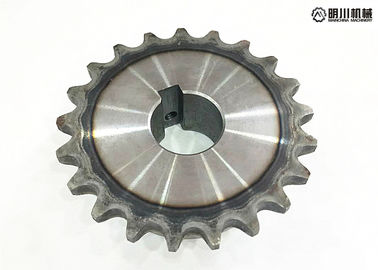 China 45C 1 inch bore finished Bore Roller Chain Sprocket  and transmission chain and Sprocket factory