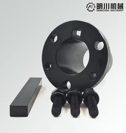 China Heavy Duty Qd Hubs And Bushings , Locking Hub Bushing Black Phosphating Surface Treatment factory