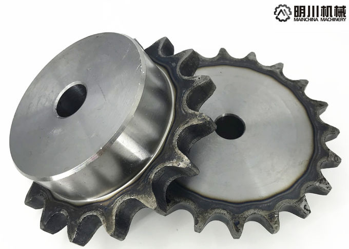 Forged Stainless Steel Conveyor Chain Sprocket , 60 Chain Sprocket 45C Material