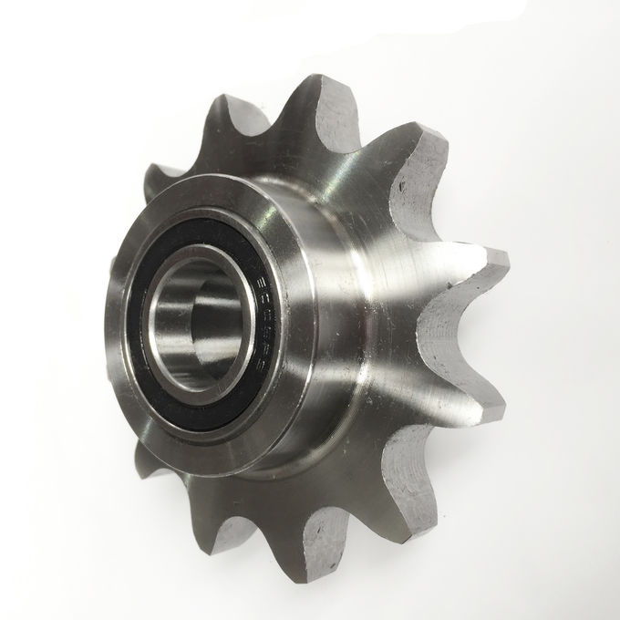 C Type Roller Chain Idler Sprocket 45C Material Customized With Heat Treatment