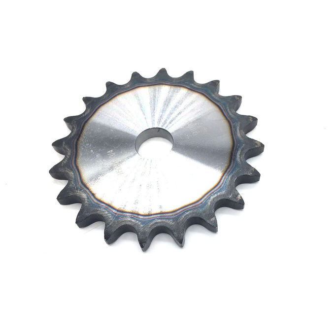 1045 steel Pitch 5/8'' 50A20 hardened teeth  ansi chain and sprocket wheel